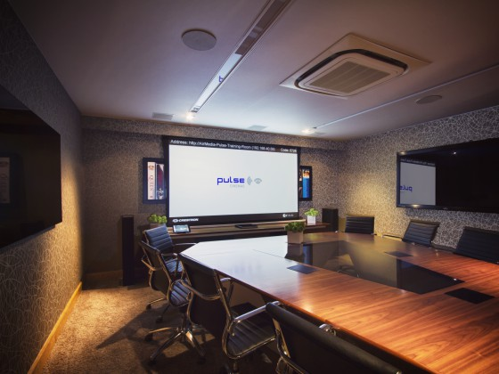Inside Pulse Cinemas' Upgraded Showroom with Crestron Control