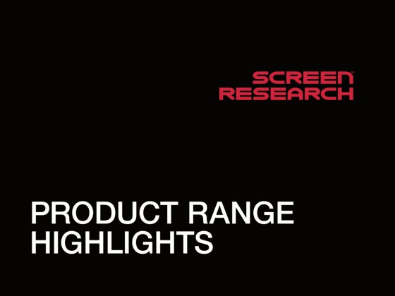 Screen Research Brochure